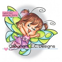 Transparent stamps, Butterfly Twilla