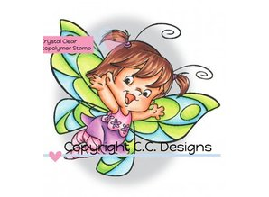 C.C.Designs Transparent stamps, Butterfly Twilla