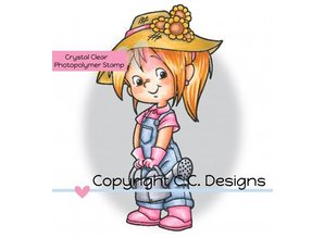C.C.Designs sellos transparentes, Nancy Jardines