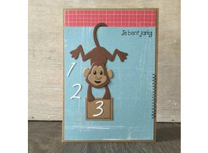 Marianne Design Punching and embossing template: Figures