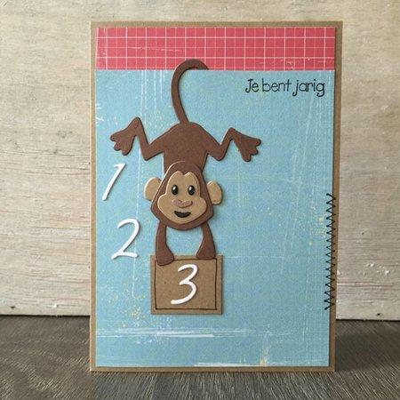 Marianne Design Stanz- und Prägeschablone: Zahlen