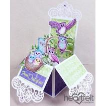 "Rubber stamp set ""Sugar Hollow"""