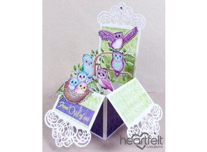 "Heartfelt Creations aus USA Rubber stamp set ""Sugar Hollow"""