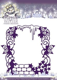 Yvonne Creations Punching and embossing template: Feenzauber
