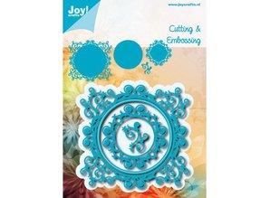 Joy!Crafts und JM Creation Stansning og prægning skabelon: dekorativ ramme
