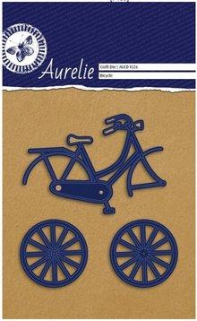 Aurelie Troquelado y estampado en relieve plantilla: bici Aurelie