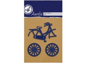 Aurelie Punching and embossing template: Aurelie bike
