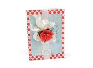 Sizzix Embossing folders, 2 pieces, frame with swirls and frames with points