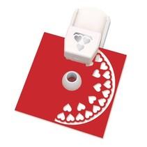 Stanzer Einsatz für Kreisbordüren Starter Set: Herzen Motiv