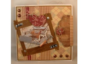 Marianne Design Embossing and cutting mat, Tool Set