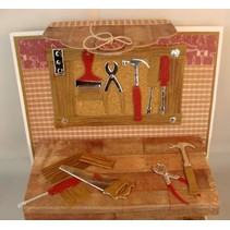 Präge- und Schneideschablone, Werkzeug Set