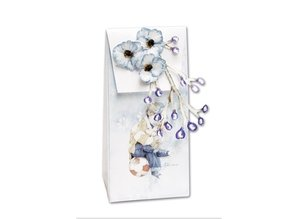 BASTELSETS / CRAFT KITS: Complete set for 4 cards and 4 gift bags !!