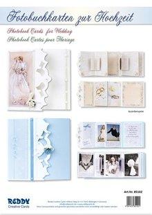 BASTELSETS / CRAFT KITS: Komplettset für Fotobuchkarten zur Hochzeit