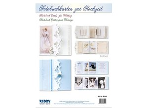 BASTELSETS / CRAFT KITS: Set completo per i biglietti photo book per il matrimonio