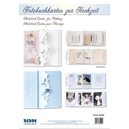 BASTELSETS / CRAFT KITS: Complete set for photo book tickets to the wedding