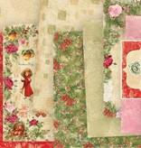 Designer Papier Scrapbooking: 30,5 x 30,5 cm Papier Christmas Story papir blok, 30,5 x 30,5 cm