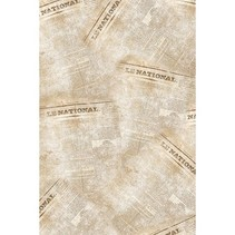 2 vellen 40x60cm papier Patch, 1 ontwerp