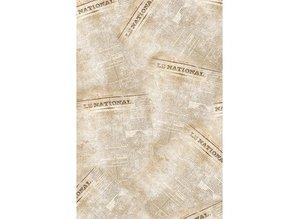 Vintage, Nostalgia und Shabby Shic 2 ark 40x60cm papir Patch, en design