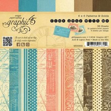 Graphic 45 Designerblock, 15,2 x 15,2cm, Come away with me