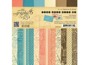 Graphic 45 Designer Block, 15.2 x 15.2 cm, Come away with me