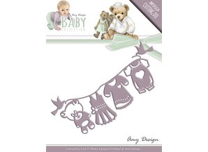 Amy Design Punching and embossing template: Baby Collection