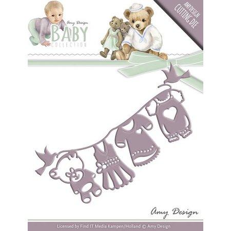 Amy Design Stanz- und Prägeschablone: Baby Collection