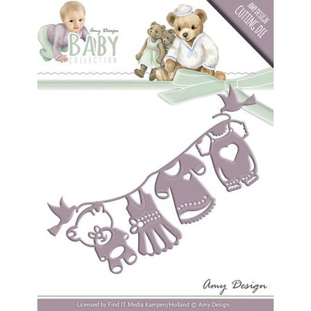 Amy Design Troquelado y estampado en relieve plantilla: Colección del bebé