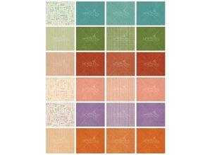 Graphic 45 Designer Block, 15,2 x 15,2 cm, Tid til Flourisch