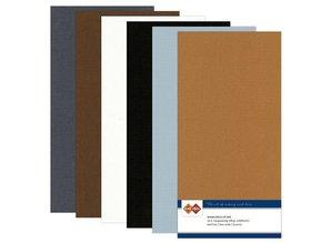 DESIGNER BLÖCKE  / DESIGNER PAPER Linen cardboard, Vintage, A5 / 240 gr