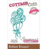 Cottage Cutz Troquelado y estampado en relieve plantilla: Globo Ramo