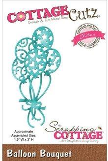 Cottage Cutz Punzonatura e goffratura modello: Balloon Bouquet