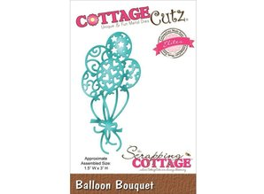 Cottage Cutz Stanz- und Prägeschablone: Balloon Bouquet