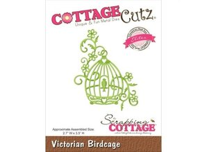 Cottage Cutz Punching and embossing template: Victorian Birdhouse