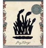 Amy Design Troquelado y estampado en relieve plantilla: Reetgras