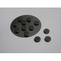 12 Mini Magneten 12 mm x 2 mm
