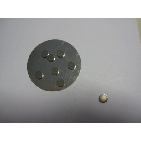 Embellishments / Verzierungen 8 mini magneet 10 mm x 2 mm