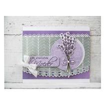 Transparent Stempel, Lavendel