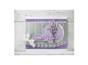 Marianne Design Transparent stamps, lavender
