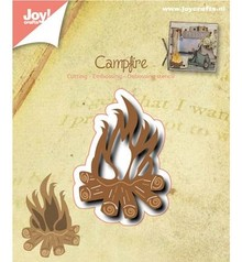 Joy!Crafts und JM Creation Punzonatura e modello di goffratura: Campfire