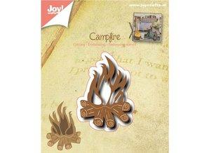 Joy!Crafts und JM Creation Stanz- und Prägeschablone: Lagerfeuer