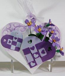 Marianne Design Marianne Design, stempling og prægning stencil, Craftables - Eline skandinaviske hjerter