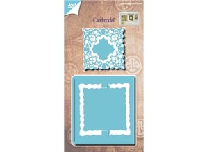 Joy!Crafts und JM Creation make movable maps: stamping and embossing stencil