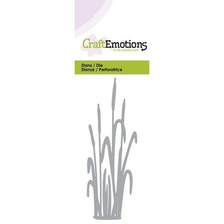 Crealies und CraftEmotions Stansning og prægning skabelon: Cattail