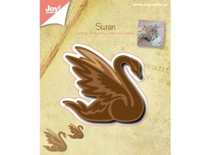 Joy!Crafts und JM Creation Punching and embossing template: Swan