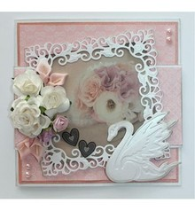 Joy!Crafts und JM Creation Punzonatura e goffratura modello: Swan