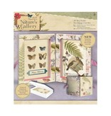 Docrafts / Papermania / Urban Decoupage Card Kit, Nature's Gallery