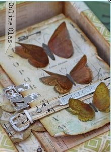 Docrafts / Papermania / Urban Decoupage Card Kit, Naturens Galleri