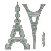 Stansning og prægning skabelon: Shapeabilities GLD 010 Le Tour Eiffel