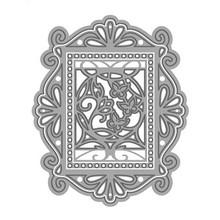 TONIC NUOVO: punzonatura e goffratura modelli Keepsake Reale Frame & Farfalla inserita L'Set