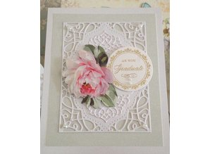 Spellbinders und Rayher Cutting and embossing stencils, 4 decorative frame